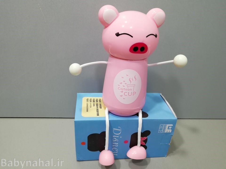 فلاکس استیل عروسکی درجه یک کد 509