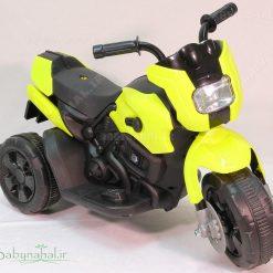 موتور سيكلت شارژي (زرد) كد 7002