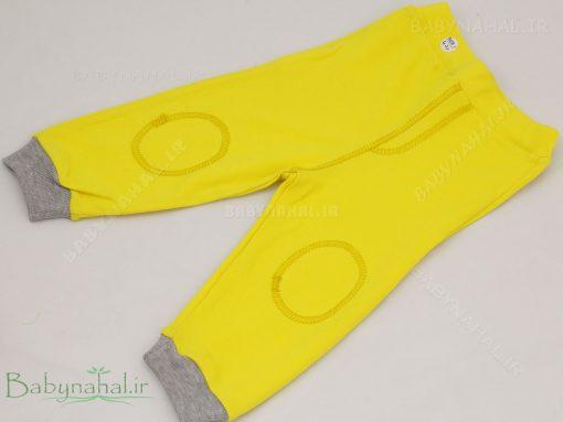 شلوار پنبه رنگی رد پا سایز 1-2-3 کد 4068