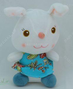 عروسك خرگوش نشسته چند مدل 20 سانتي كد 3903