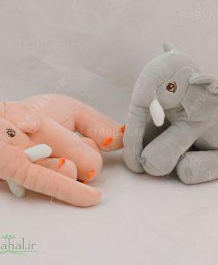 عروسک بالشتی فیل نانو 20 سانتی کد 4018