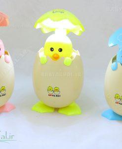 چراغ خواب ال ای دی طرح تخم مرغ کد 3719