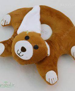 بالش کمک شیر دهی خرس خوابیده کد 4402