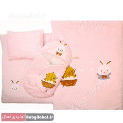 سرویس خواب مخمل خرگوش و گربه کد ۳۲۳۵