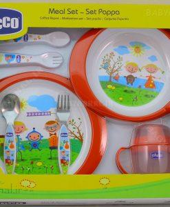 ست ظروف با قاشق و چنگال استيل سوپر Cihcco كد 4026