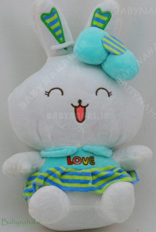 عروسك خرگوش خندان 35 سانتي كد 4792