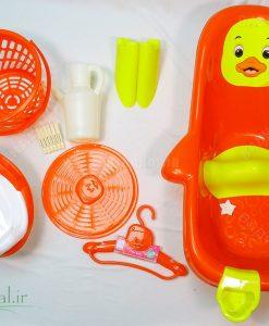 سرويس پلاستيك 10 تيكه A-B كد 4634