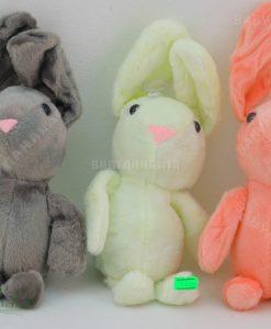 عروسك آويز خرگوش مخمل 20 سانتي كد 5121
