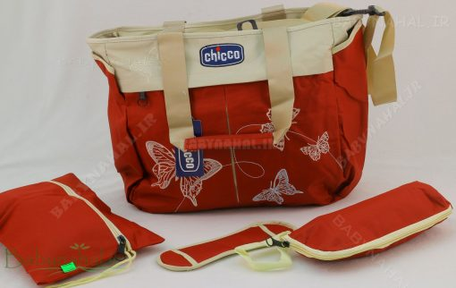 ساك لوازم Chicco گلدوزي پروانه كد 5330