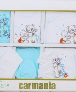 19 تیکه چاپی طرح خرس و کودک کد 5304
