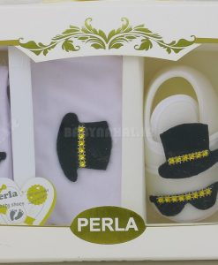 پاپوش سه تيكه پسرانه Perla كد 5288