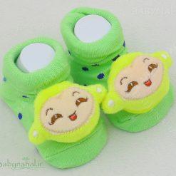 پاپوش عروسكي نوزاد چند مدل جغجغه اي كد 5663