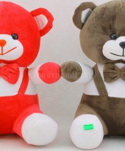 عروسك خرس دو بند 25 سانتي كد 5736