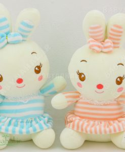عروسك آويز خرگوش دامن دار 20 سانتي كد 5749