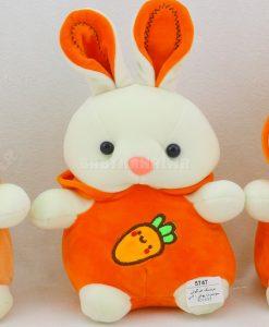 عروسك خرگوش سويشرت پوش 20 سانتي كد 5747