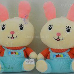 عروسك آويز خرگوش 20 سانتي كد 5962
