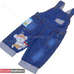 ۱۲۳۷ شلوار جین پیش بندی (AC) سایز ۱-۲ کد ۵۰۸۰