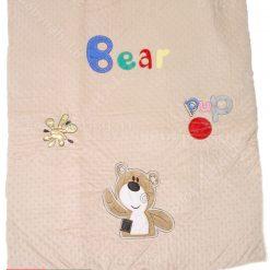 سرویس خواب(AP) مخمل پارچه خارجی طرح Bear کد ۳۹۷۸