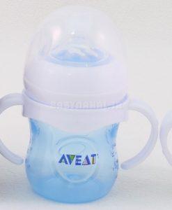 شير خوري دهانه عريض 125ML دسته دار Aveat كد6351