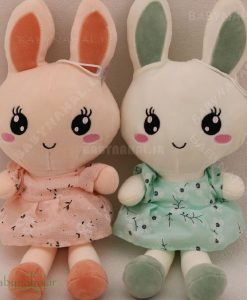 عروسك آويز خرگوش سارافون 45 سانتي كد 6194