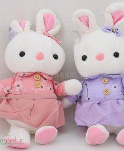 عروسك آويز خرگوش 30سانتي نانو كد 6711
