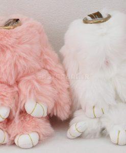 عروسك اويز خرگوش 20 سانتي كد 4356