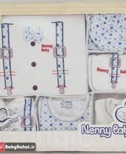 10 تيكه گلدوزي و پاپيون Nenny baby تركيه كد 7096