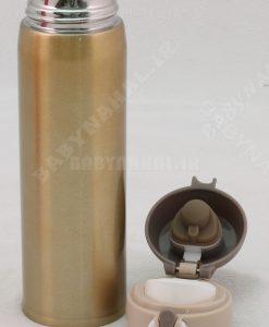 فلاكس استيل 500ML قفل دار براق كد 7162