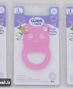 دندانگير تمام سيليكوني خرس Wee Care كد 7253