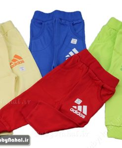 شلوار پنبه رنگي adidas سايز 1_3 (BI) كد 7655