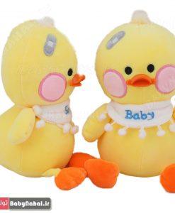 عروسك اويز اردك 25 سانتي گلدوزي Baby كد 7427
