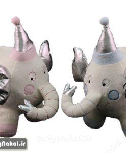 عروسك فيل تاتي 25 سانتي كد 7575