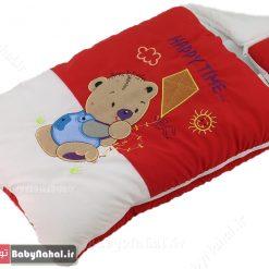كيسه خواب تترون گلدوزي خرس وبادبادك كد 7567