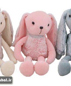 عروسك آويز خرگوش پشمي 45 سانتي كد 7581