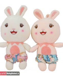 عروسك خرگوش هاوايي 25 سانتي كد 7777