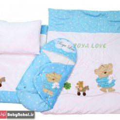 سرويس خواب مخمل خرس و ستاره (AQ) كد 7980