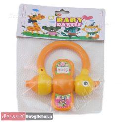 جغجغه تكي Baby Ratte كد 8592