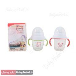 شیر خوری دهانه عریض 180ml پیرکس دسته دار کد 8667 (2)