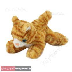 عروسك گربه خوابيده 20 سانتي Amor كد 8687